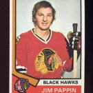 1974-75 Topps Hockey #113 Jim Pappin - Chicago Blackhawks