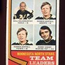 1974-75 Topps Hockey #112 Minnesota North Stars Leaders / Dennis Hextall Ex