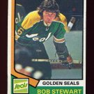 1974-75 Topps Hockey #092 Bob Stewart - California Golden Seals