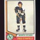 1974-75 Topps Hockey #031 Fred Stanfield - Minnesota North Stars