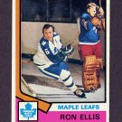 1974-75 Topps Hockey #012 Ron Ellis - Toronto Maple Leafs