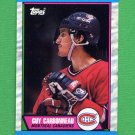 1989-90 Topps Hockey #053 Guy Carbonneau - Montreal Canadiens