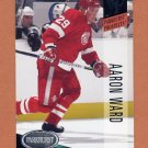 1993-94 Parkhurst Hockey #262 Aaron Ward PKP RC - Detroit Red Wings