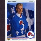 1990-91 Upper Deck Hockey #365 Mats Sundin RC - Quebec Nordiques
