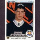 1990-91 Upper Deck Hockey #358 Darryl Sydor RC - Los Angeles Kings