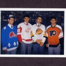 1990-91 Upper Deck Hockey #351 Owen Nolan / Keith Primeau / Petr Nedved / Mike Ricci