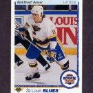1990-91 Upper Deck Hockey #347 Rod Brind' Amour ART - St. Louis Blues
