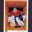 1990-91 Upper Deck Hockey #317 Patrick Roy Team Checklist - Montreal Canadiens