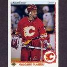 1990-91 Upper Deck Hockey #271 Doug Gilmour - Calgary Flames