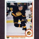 1990-91 Upper Deck Hockey #256 Trevor Linden - Vancouver Canucks