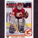 1990-91 Upper Deck Hockey #254 Mike Vernon - Calgary Flames