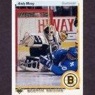 1990-91 Upper Deck Hockey #232 Andy Moog - Boston Bruins
