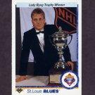 1990-91 Upper Deck Hockey #203 Byng Trophy / Brett Hull - St. Louis Blues