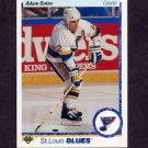 1990-91 Upper Deck Hockey #173 Adam Oates - St. Louis Blues