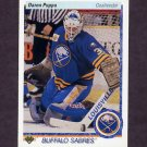 1990-91 Upper Deck Hockey #166 Daren Puppa - Buffalo Sabres