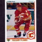 1990-91 Upper Deck Hockey #143 Al MacInnis - Calgary Flames