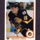 1990-91 Upper Deck Hockey #128 Igor Larionov RC - Vancouver Canucks NM-M