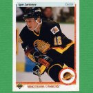 1990-91 Upper Deck Hockey #128 Igor Larionov RC - Vancouver Canucks Ex