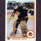 1990-91 Upper Deck Hockey #107 Steve Weeks - Vancouver Canucks