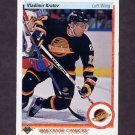 1990-91 Upper Deck Hockey #077 Vladimir Krutov RC - Vancouver Canucks