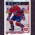 1990-91 Upper Deck Hockey #072 Bobby Smith - Montreal Canadiens