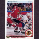 1990-91 Upper Deck Hockey #063 Jeremy Roenick RC - Chicago Blackhawks