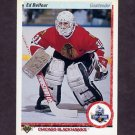 1990-91 Upper Deck Hockey #055 Ed Belfour RC - Chicago Blackhawks