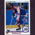 1990-91 Upper Deck Hockey #053 Dale Hawerchuk - Winnipeg Jets