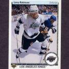 1990-91 Upper Deck Hockey #052 Larry Robinson - Los Angeles Kings