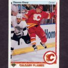 1990-91 Upper Deck Hockey #047 Theo Fleury - Calgary Flames