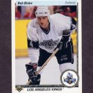 1990-91 Upper Deck Hockey #045 Rob Blake RC - Los Angeles Kings