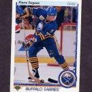 1990-91 Upper Deck Hockey #043 Pierre Turgeon - Buffalo Sabres