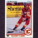 1990-91 Upper Deck Hockey #026 Joe Nieuwendyk - Calgary Flames