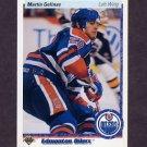 1990-91 Upper Deck Hockey #023 Martin Gelinas RC - Edmonton Oilers