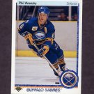 1990-91 Upper Deck Hockey #022 Phil Housley - Buffalo Sabres