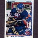 1990-91 Upper Deck Hockey #018 Glenn Healy RC - New York Islanders