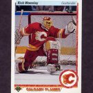 1990-91 Upper Deck Hockey #010 Rick Wamsley - Calgary Flames