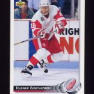 1992-93 Upper Deck Hockey #267 Vladimir Konstantinov - Detroit Red Wings