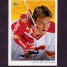 1992-93 Upper Deck Hockey #003 Tomas Forslund / Calgary Flames Team Checklist