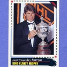 1992-93 Score Hockey #520 King Clancy Trophy / Ray Bourque - Boston Bruins