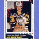 1992-93 Score Hockey #519 Mario Lemieux AW - Pittsburgh Penguins