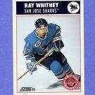 1992-93 Score Hockey #475 Ray Whitney RC - San Jose Sharks