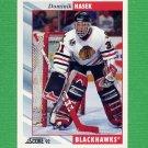 1992-93 Score Hockey #373 Dominik Hasek - Chicago Blackhawks