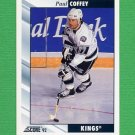 1992-93 Score Hockey #265 Paul Coffey - Los Angeles Kings