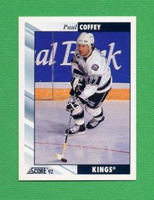 1992-93 Score Hockey #265 Paul Coffey - Los Angeles Kings