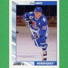 1992-93 Score Hockey #240 Joe Sakic - Quebec Nordiques