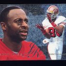 1995 Fleer Football Flair Preview #27 Jerry Rice - San Francisco 49ers
