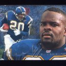 1995 Fleer Football Flair Preview #26 Natrone Means - San Diego Chargers