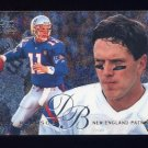 1995 Fleer Football Flair Preview #20 Drew Bledsoe - New England Patriots