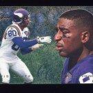 1995 Fleer Football Flair Preview #19 Cris Carter - Minnesota Vikings